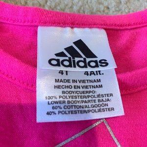 Girls Adidas T-Shirt and Skort